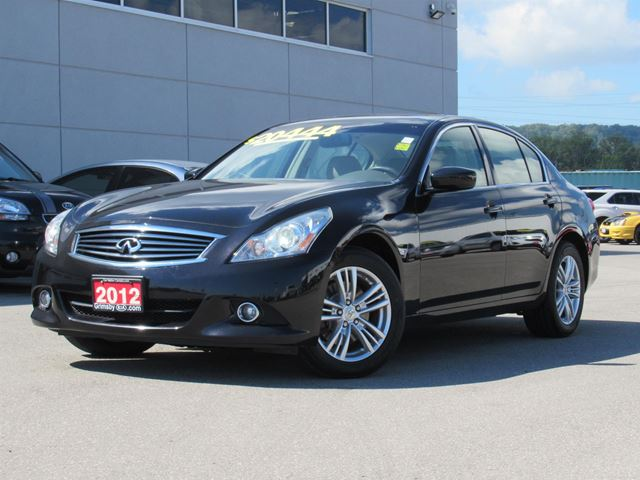 2012 INFINITI G25 x COMFORT AND LUXURY AT A NEWLY REDUCED PRICE!!! in Grimsby, Ontario