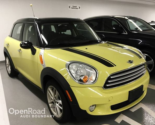2012 mini cooper countryman yellow openroad audi. Black Bedroom Furniture Sets. Home Design Ideas