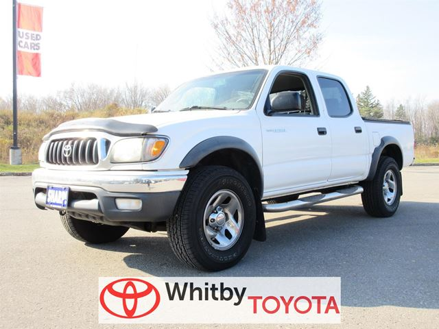 2004 toyota tacoma white whitby toyota company. Black Bedroom Furniture Sets. Home Design Ideas