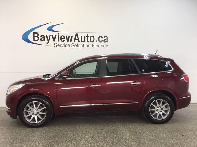 2016 BUICK ENCLAVE - AWD! SUNROOF! LEATHER! 7 RIDER! BLUETOOTH! in Belleville, Ontario