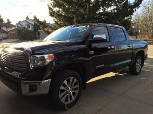 2017 Toyota Tundra 4WD CREWMAX LIMITED 5.7L Black   LEASE BUSTERS ...