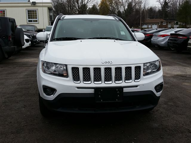 2016 jeep compass high altitude rockland ontario used car for sale 2639871. Black Bedroom Furniture Sets. Home Design Ideas