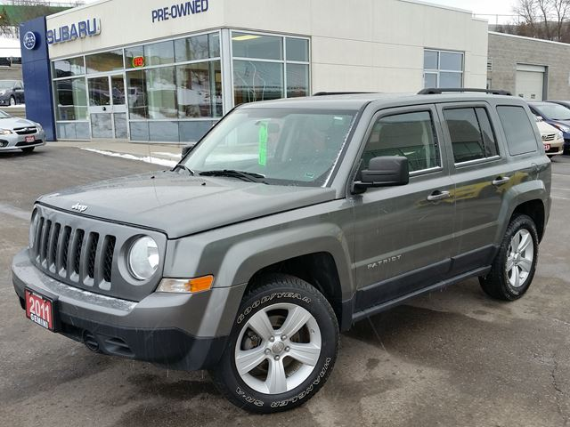 2011 jeep patriot north 4x4 kitchener ontario used car for sale 2640374