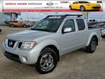 2016 Nissan Frontier PRO-4X 4x4 w/all leather,NAV,pwr sunroof,rear cam,dual climate,pwr heated seats in Cambridge, Ontario