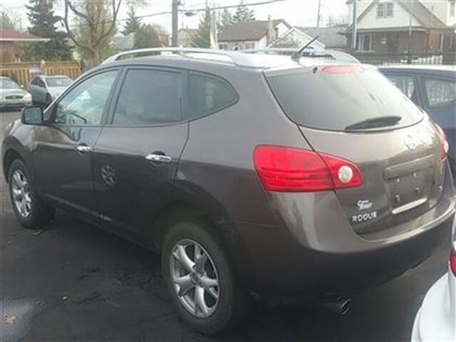 2010 nissan rogue sl hamilton ontario used car for sale. Black Bedroom Furniture Sets. Home Design Ideas