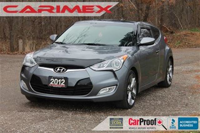 2012 HYUNDAI VELOSTER Tech   NAVI + ONLY 32K + CERTIFIED +E-Tested in Kitchener, Ontario