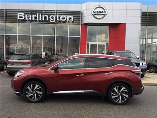 2016 nissan murano platinum red burlington nissan. Black Bedroom Furniture Sets. Home Design Ideas