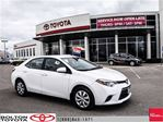 2015 Toyota Corolla 4-Door Sedan LE Cvti-S Back up Cam, Heated Seats, in Bolton, Ontario