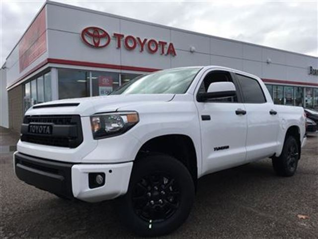 2017 toyota tundra trd pro brantford ontario used car for sale 2641014. Black Bedroom Furniture Sets. Home Design Ideas