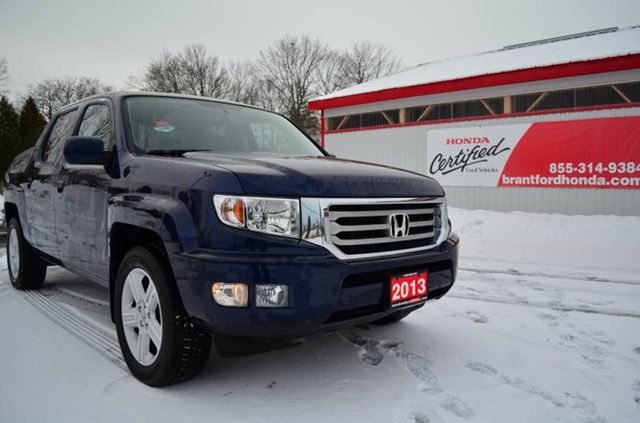 2013 honda ridgeline touring blue brantford honda. Black Bedroom Furniture Sets. Home Design Ideas