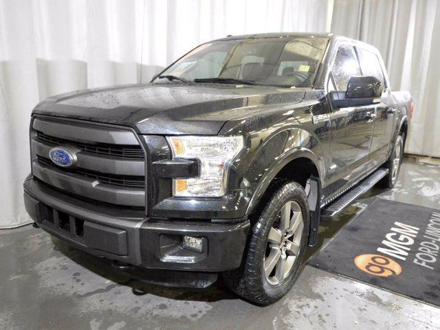 2015 ford f 150 lariat 4x4 supercrew cab 5 5 ft box 145 in wb red deer alberta used car for. Black Bedroom Furniture Sets. Home Design Ideas