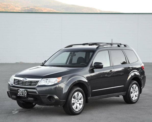 2010 subaru forester 2 5 x outdoor package awd grey. Black Bedroom Furniture Sets. Home Design Ideas