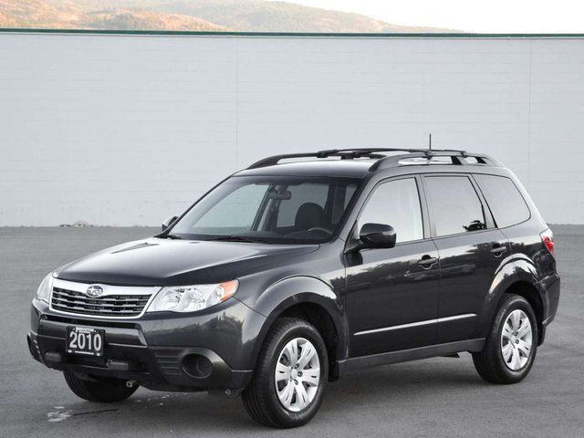 2010 subaru forester 2 5 x outdoor package awd kelowna. Black Bedroom Furniture Sets. Home Design Ideas