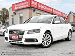 2010 Audi A4 AWD-NAVIGATION-CAMERA-B/T-XENONS-CLEAN CARPROOF in Scarborough, Ontario