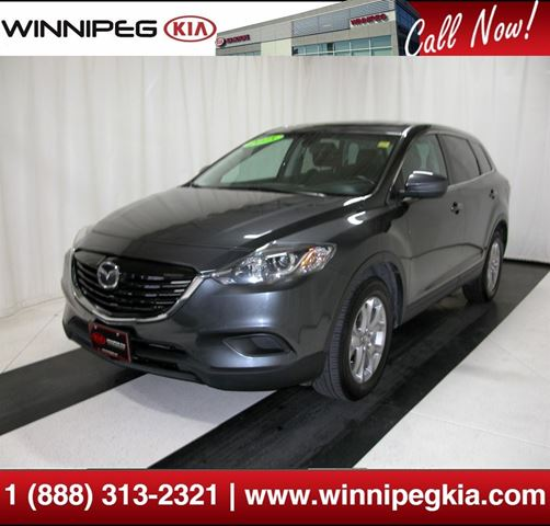 2015 mazda cx 9 gs winnipeg manitoba used car for sale 2640709. Black Bedroom Furniture Sets. Home Design Ideas