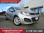 2014 Kia Rio LX+ ACCIDENT FREE  in Surrey, British Columbia