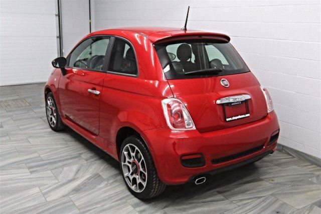 2013 fiat 500 sport leather new tires brakes heated seats alloys bluetooth keyless entry. Black Bedroom Furniture Sets. Home Design Ideas