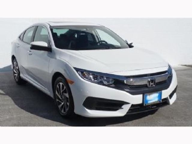 2017 honda civic sedan ex hs white lease busters. Black Bedroom Furniture Sets. Home Design Ideas