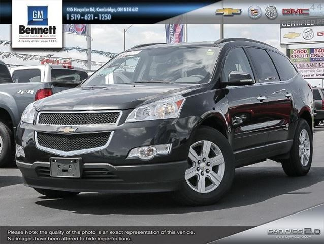 2011 chevrolet traverse 2lt cambridge ontario car for. Black Bedroom Furniture Sets. Home Design Ideas