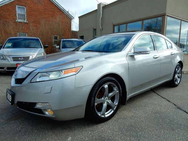 2009 acura tl sh awd leather roof one owner accident free kitchener ontario used car for sale. Black Bedroom Furniture Sets. Home Design Ideas