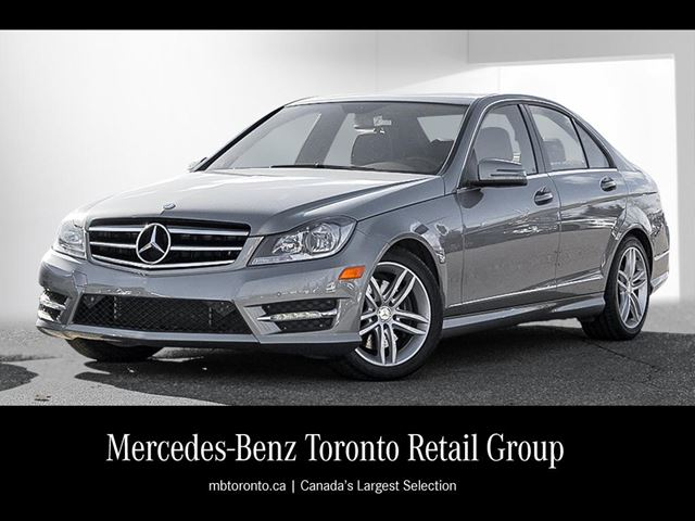 2014 mercedes benz c class c300 4matic sedan mississauga ontario. Cars Review. Best American Auto & Cars Review