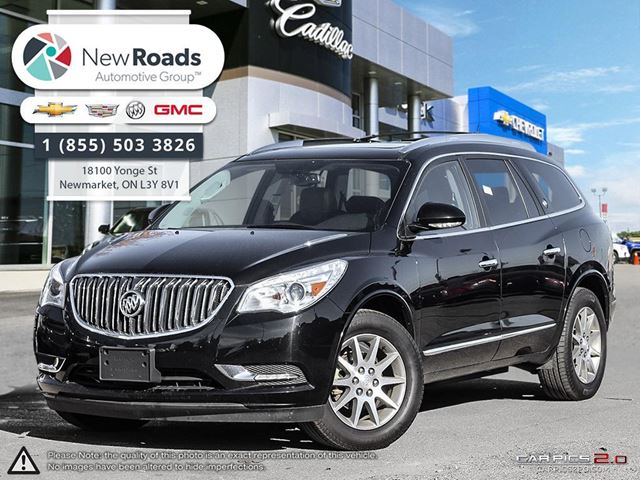 2016 buick enclave leather leather newmarket ontario used car for sale 2641837. Black Bedroom Furniture Sets. Home Design Ideas