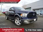 2012 Dodge RAM 1500 SLT W/ VOICE COMMAND BLUETOOTH & TOW PACKAGE in Surrey, British Columbia