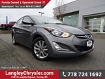2016 Hyundai Elantra Sport Appearance W/ REAR-VIEW CAMERA, BLUETOOTH, SUNROOF & HEATED SEATS in Surrey, British Columbia