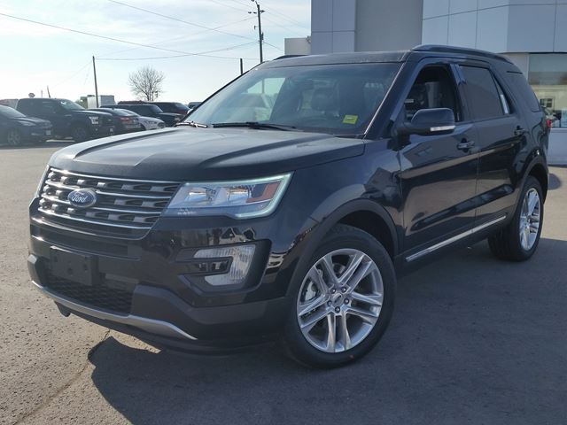 New 2017 Ford Explorer 3 50 Xlt Port Perry Wheels Ca