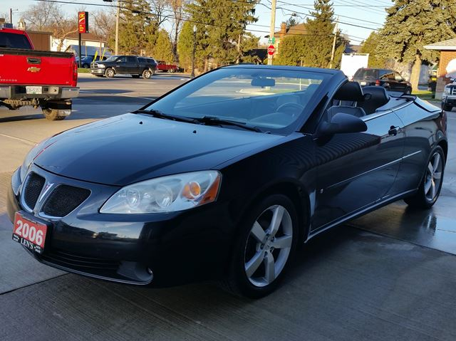 2006 pontiac g6 gt hardtop convertible jarvis ontario. Black Bedroom Furniture Sets. Home Design Ideas