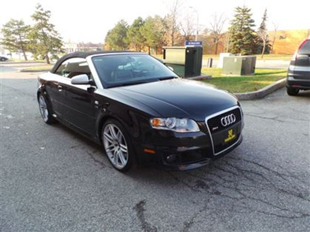 2008 audi rs4 convertible with navi woodbridge ontario used car for sale 2643159. Black Bedroom Furniture Sets. Home Design Ideas