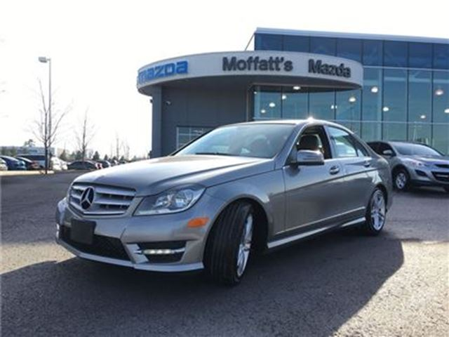 2013 MERCEDES-BENZ C-CLASS C300 AWD LEATHER, SUNROOF, HEATED SEATS in Barrie, Ontario