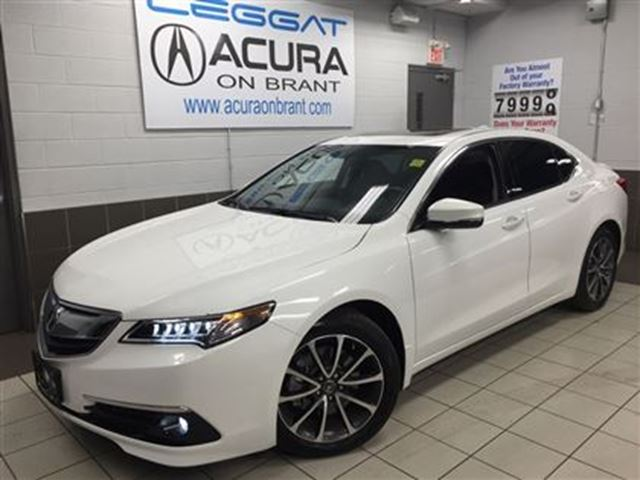2016 acura tlx tech only14000kms offlease navi foglights white acura on brant. Black Bedroom Furniture Sets. Home Design Ideas