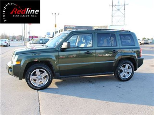 2007 jeep patriot north 4x4 hamilton ontario used car. Black Bedroom Furniture Sets. Home Design Ideas