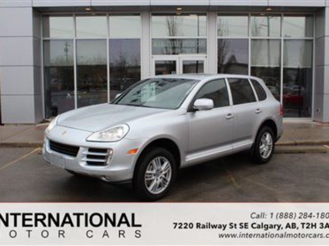 2009 porsche cayenne s v8 navi low kms mint calgary. Black Bedroom Furniture Sets. Home Design Ideas