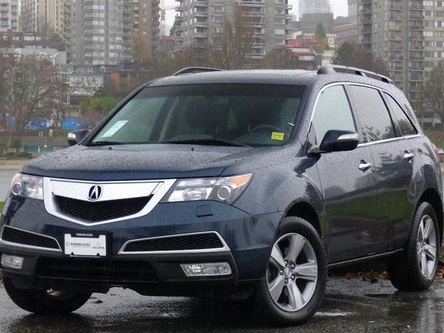 2013 acura mdx tech 6sp at vancouver british columbia used car for sale 2643273. Black Bedroom Furniture Sets. Home Design Ideas