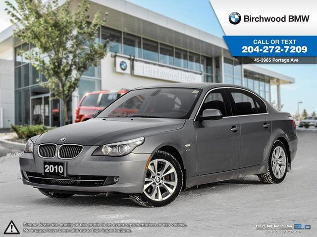 2010 bmw 5 series 535i xdrive executive edition winnipeg. Black Bedroom Furniture Sets. Home Design Ideas
