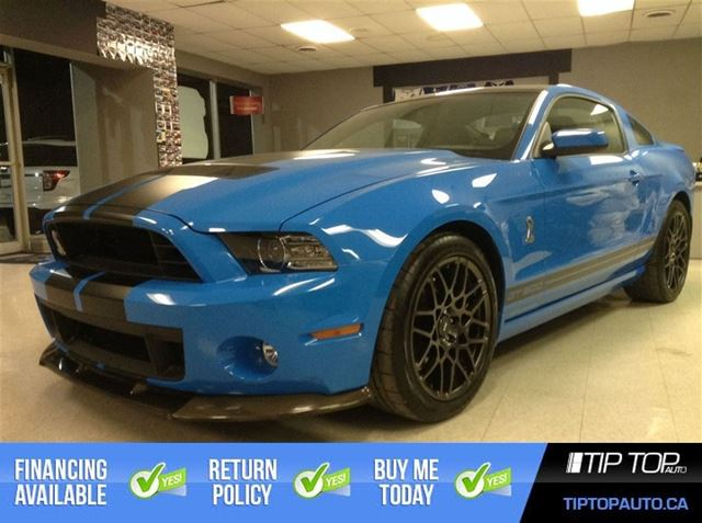 2014 Ford Mustang Shelby GT500 ** Glass Roof, Grabber Blue ** in Bowmanville, Ontario