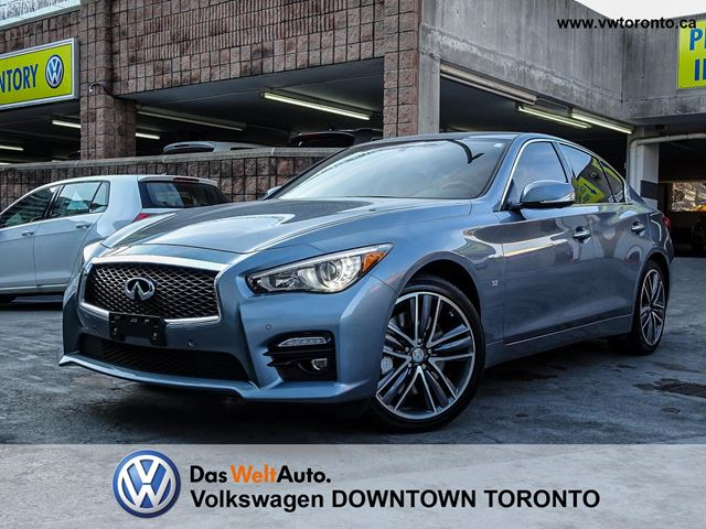 2014 infiniti q50 sport awd deluxe touring tech pkg toronto ontario used car for sale 2643514. Black Bedroom Furniture Sets. Home Design Ideas