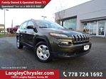 2014 Jeep Cherokee Sport LOCALLY DRIVEN, ONE OWNER & ACCIDENT FREE in Surrey, British Columbia