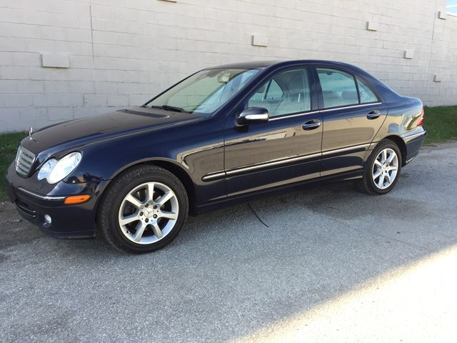 2007 Mercedes Benz C350 4matic 3 5l Dark Blue Euro Best