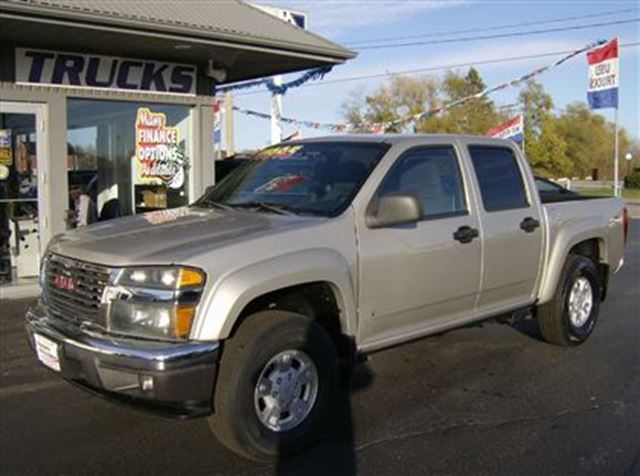 2007 gmc canyon crew cab sits up nice pewter niagara. Black Bedroom Furniture Sets. Home Design Ideas