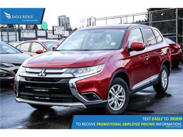 2016 MITSUBISHI OUTLANDER ES Heated Seats and Air Conditioning Heated Seats in Coquitlam, British Columbia