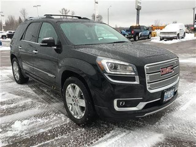 2016 gmc acadia denali prescott ontario used car for. Black Bedroom Furniture Sets. Home Design Ideas