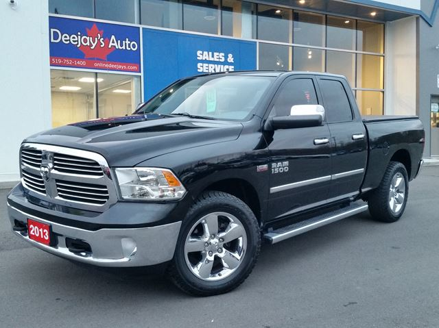 2013 dodge ram 1500 big horn 4x4 brantford ontario used car for. Cars Review. Best American Auto & Cars Review