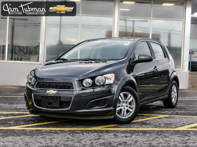 2016 chevrolet sonic lt auto ottawa ontario used car. Black Bedroom Furniture Sets. Home Design Ideas
