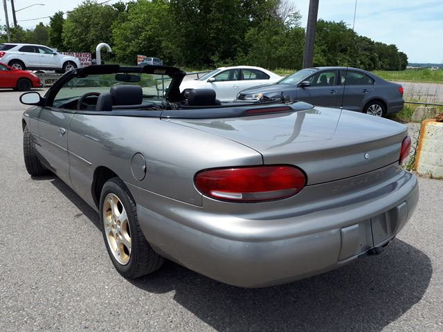 1999 chrysler sebring jxi pickering ontario car for. Black Bedroom Furniture Sets. Home Design Ideas