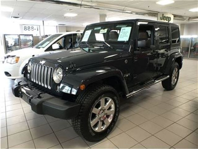 2016 jeep wrangler unlimited sahara mississauga ontario car for sale 2645557. Black Bedroom Furniture Sets. Home Design Ideas