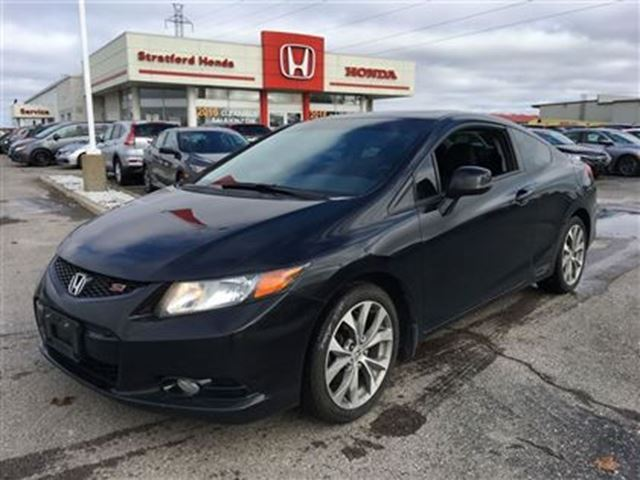 2012 honda civic si stratford ontario used car for sale 2646062. Black Bedroom Furniture Sets. Home Design Ideas