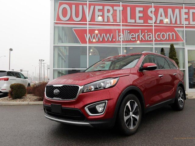 2016 kia sorento ex v6 7 passagers garantie 10 ans 200 000km garantie 10 ans 200 000km laval. Black Bedroom Furniture Sets. Home Design Ideas